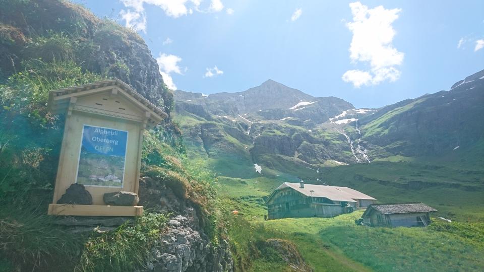 Ab sofort ist das Alpbeizli im Oberberg geöffnet (05.07.2019)