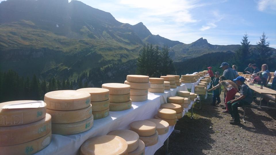 Mit dem Chästeilet ist der Alpsommer definitiv am Ende. Besten Dank an alle Besucher und hoffentlich bis nächsten Sommer (14.09.2019)
