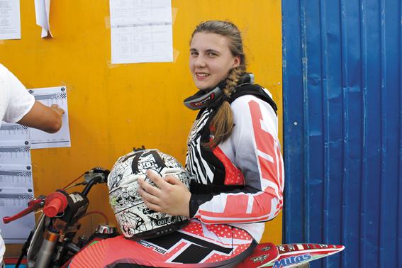 Василиса Семенова, в прошлом спортсменка Царскосельской детской мотошколы