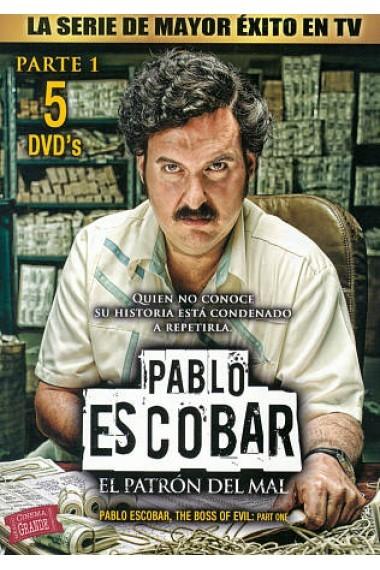 Pablo Escobar: El Patron Del Mal, Parte1 – Disco1 [2012] [DvdRip] [Latino] [MG]
