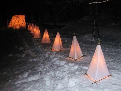 竹行燈の試作