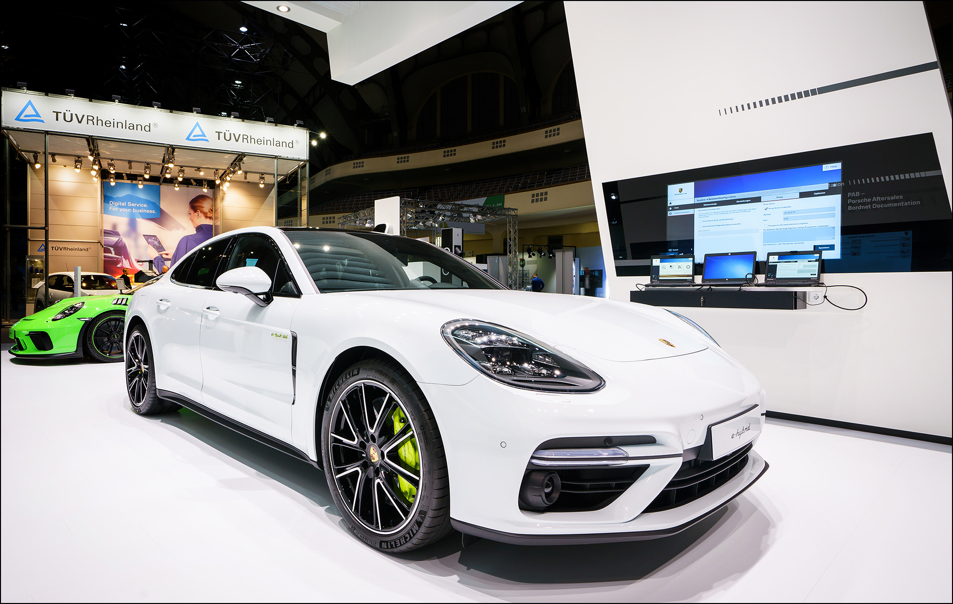 Messefotograf Frankfurt Porsche