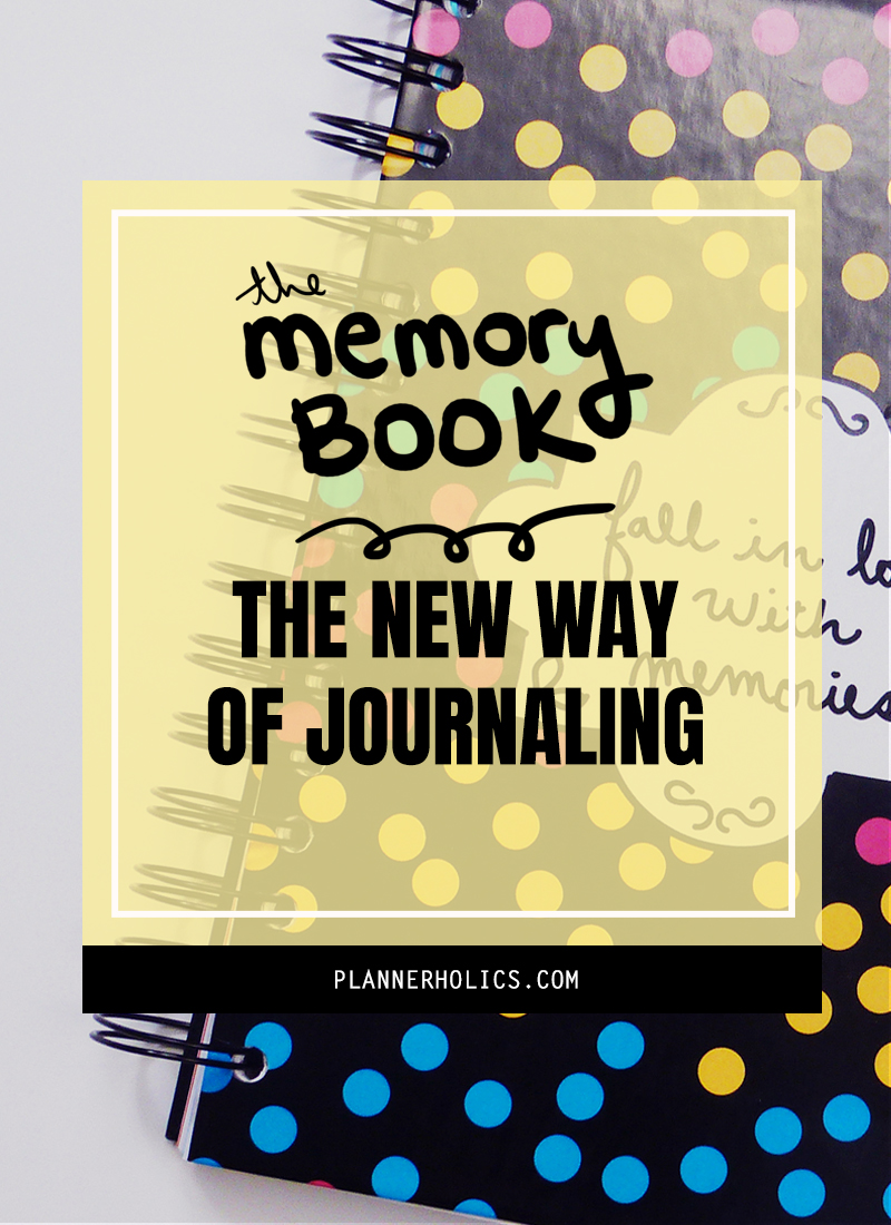 The Memory Book - The new way to journal your experiences for the artist in you
