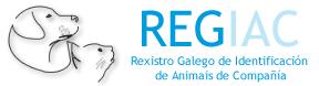 Web REGIAC pinchando el logo.