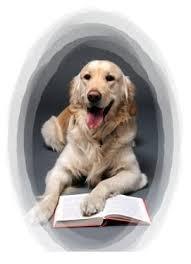 Libros para entender a un perro, pinchando en el dibujo.