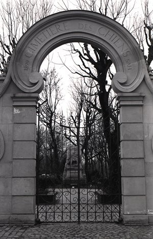 Cementerio parisino de mascotas.