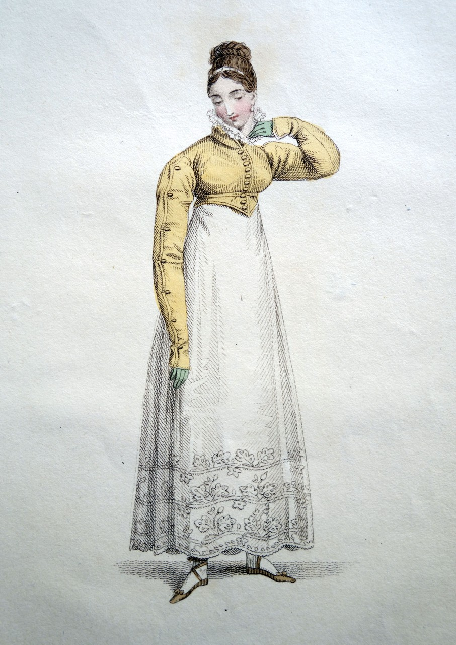 Parisian Home Costume, La Belle Assemblee, 1817