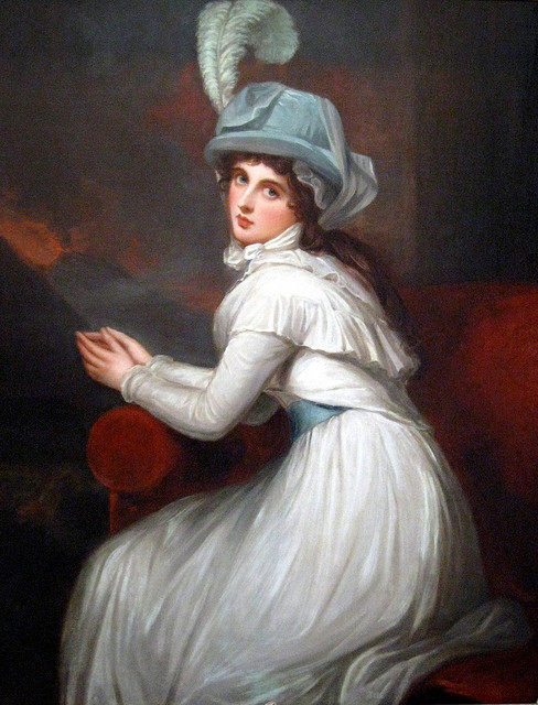 Lady Emma Hamilton by George Romney(flickr, picture by cubby_t_bear)