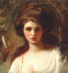 Emma Hamilton as Circe by George Romney (flickr, CC 2.0, picture by Katharine B)