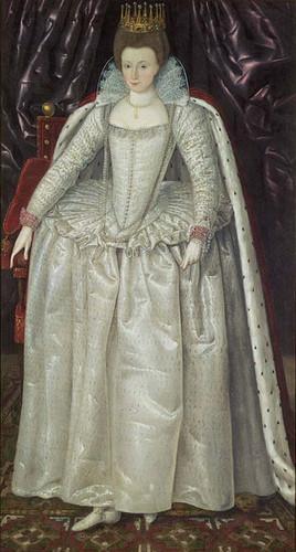 Tudor Elizabethan Era Epochs Of Fashion Ladies Costume Through