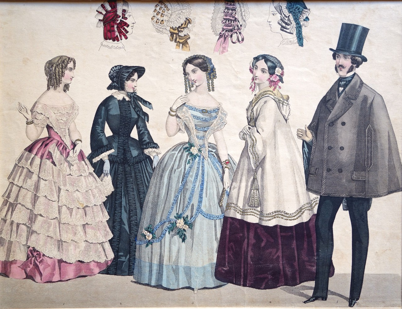 Victorian Era - epochs-of-fashion: Ladies costume through the ages