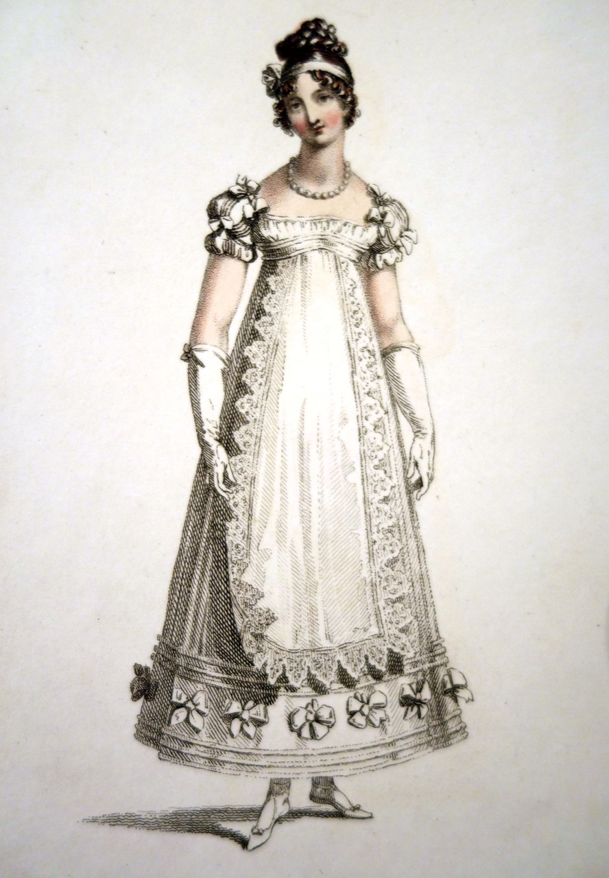 Parisian Ball Dress, 1817