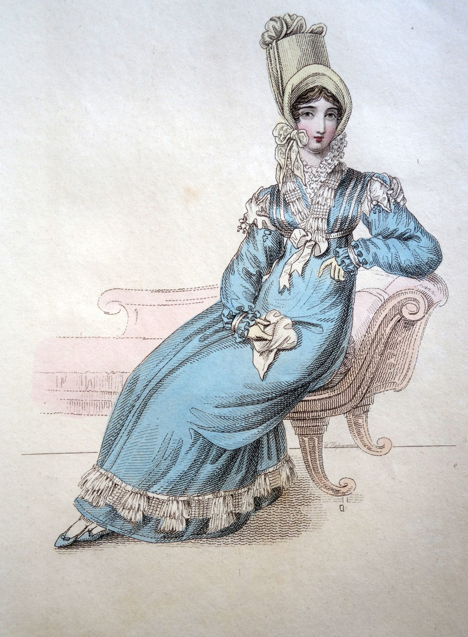 Morning Dress, La Belle Assemblee, 1817