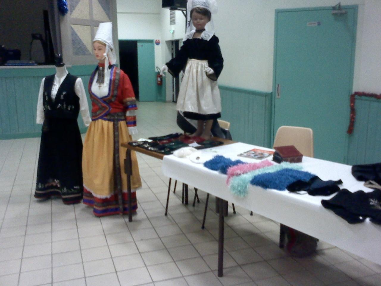 Expo de notre atelier couture et perlage