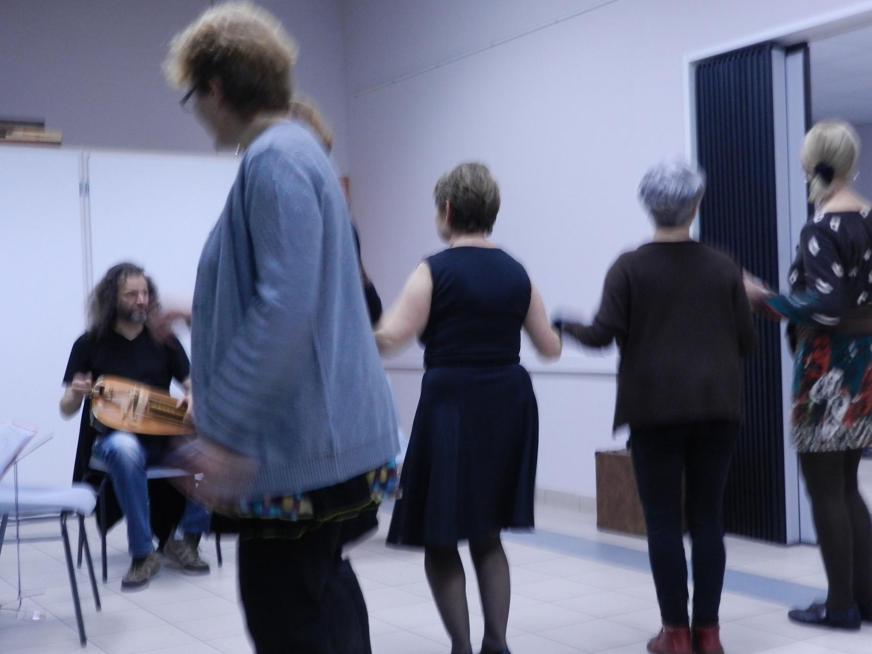 Les danseurs.