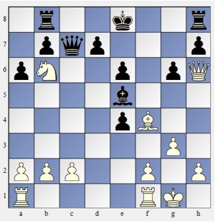 Schach TAKTIV die Dame