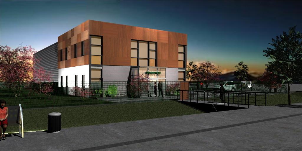 Siège de l'entreprise Dunoyer , 2000 m², nouvelle ZA de Rambouillet