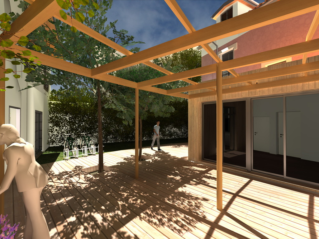 Rénovation de deux foyers Emmaüs, Alfortville (THPE)