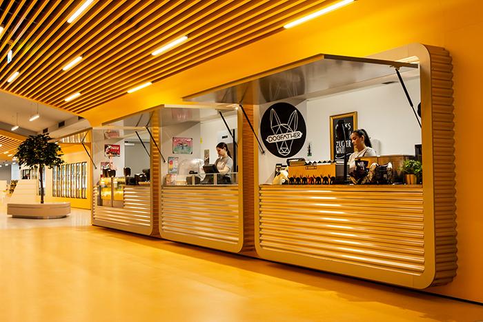 Restaurantes gratis para los que tienen entrada VIP.