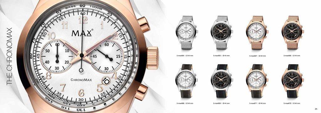 The Chronomax - der Chronograph