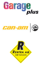 Garage plus, can-am, Rentra AG