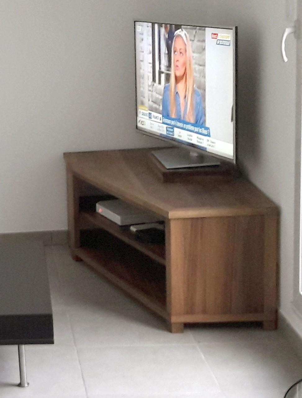 Meuble tv noyer