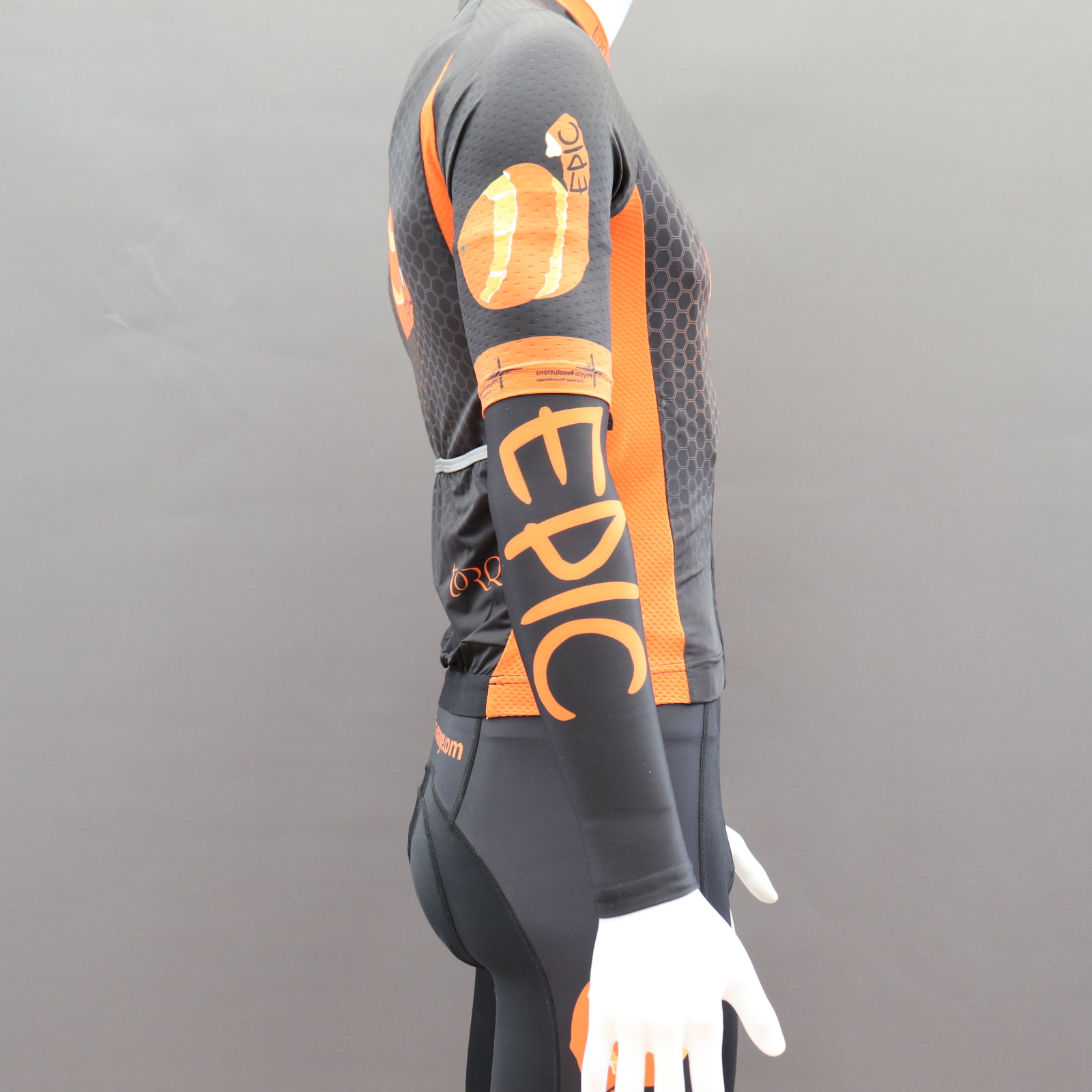 Custom Printed Roubaix Cycle Armwarmers