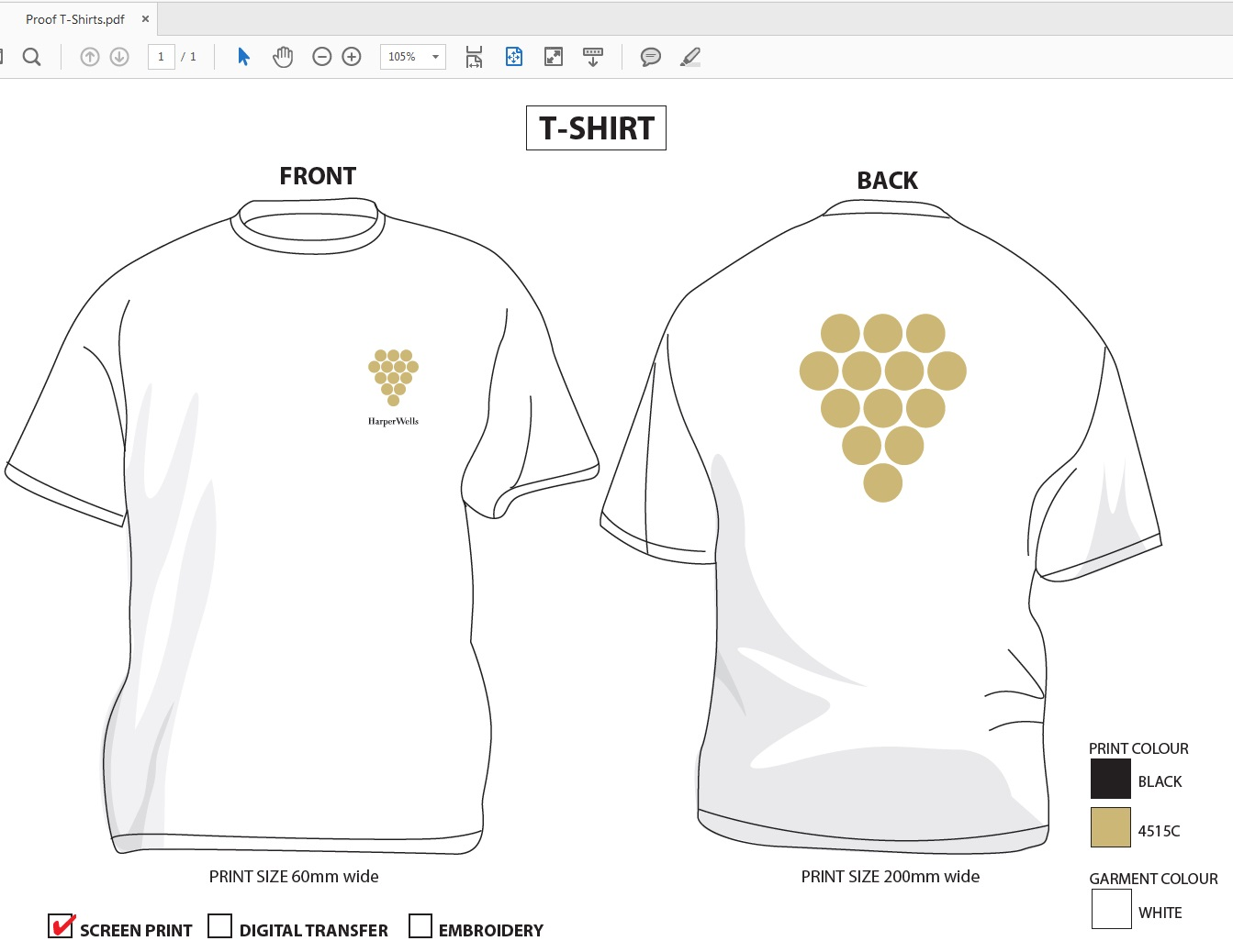 Budget Printed T-Shirts