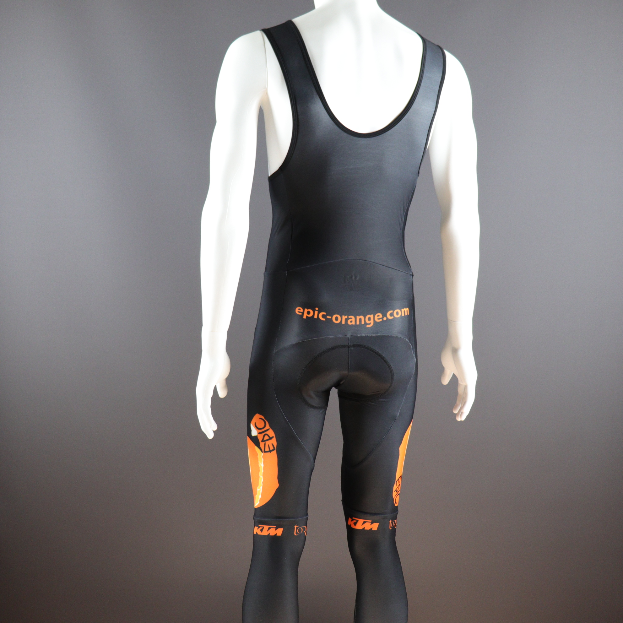 Thermal Race Bib Tights with Coolmax Pad