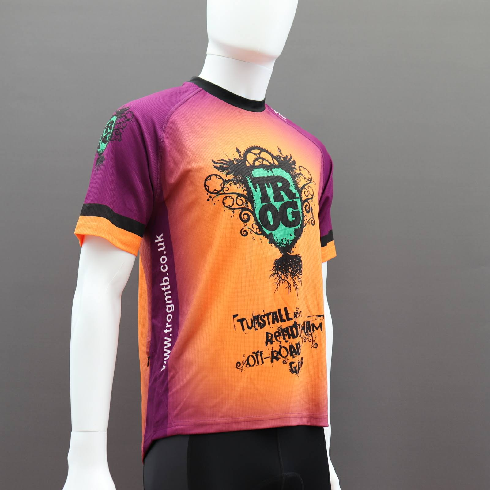 Custom MTB Jerseys Short Sleeve