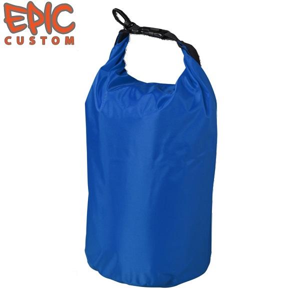 Printed Waterproof Dry Bags 10 litre BLUE