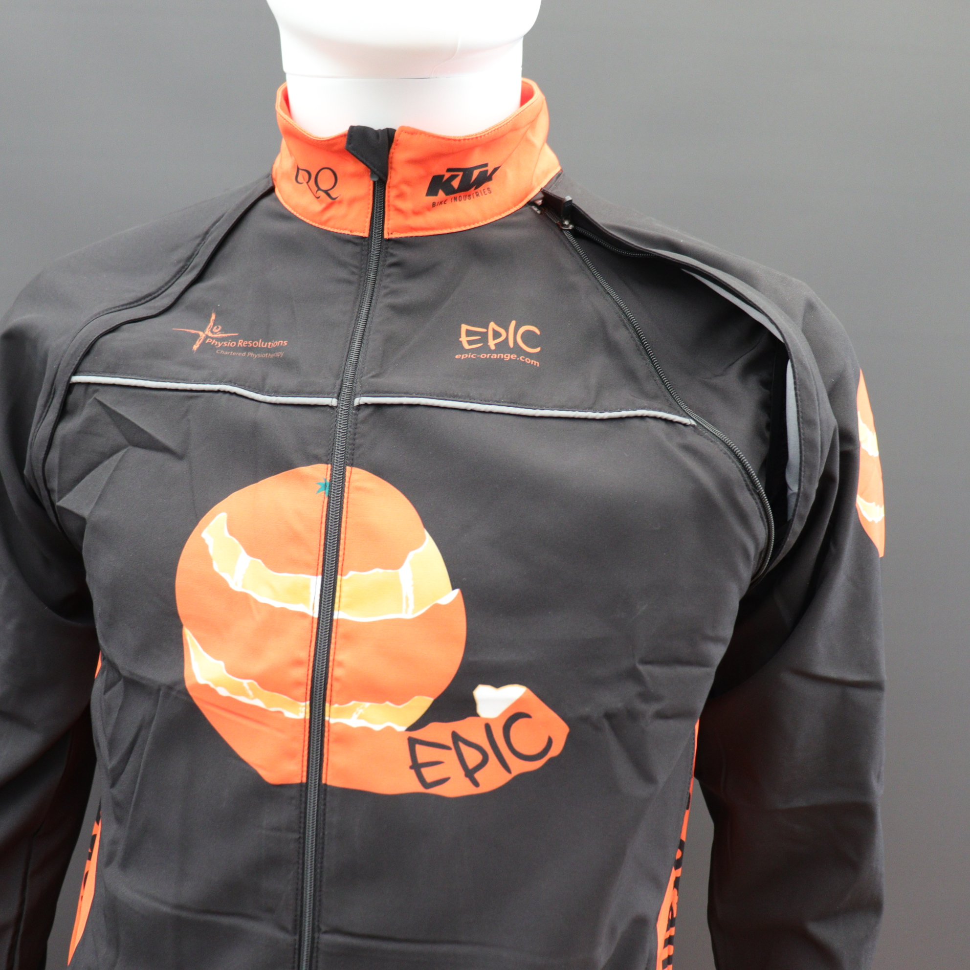 Convertible Cycle Jackets Unzip