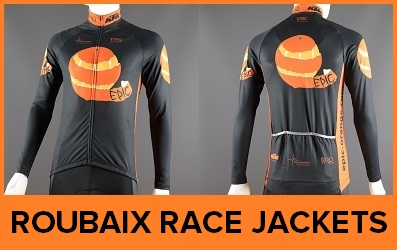 Custom Printed Thermal Cycle Racing Jackets