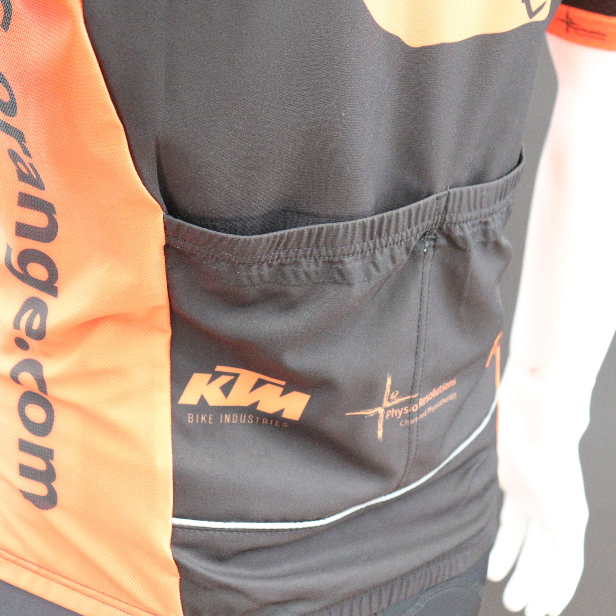 Custom Pro Cut Cycle Gilets Twin Pockets