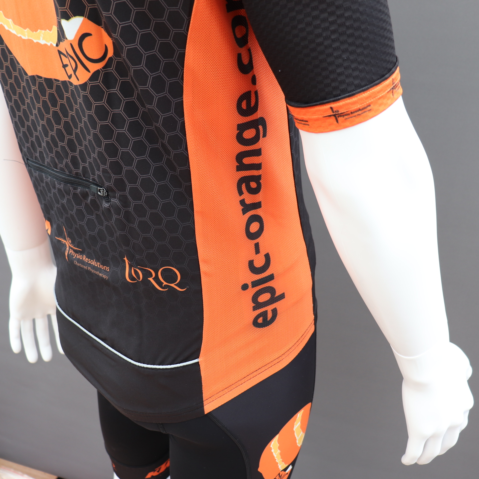 Cycle Gilets - Vented Side & Drop Tail