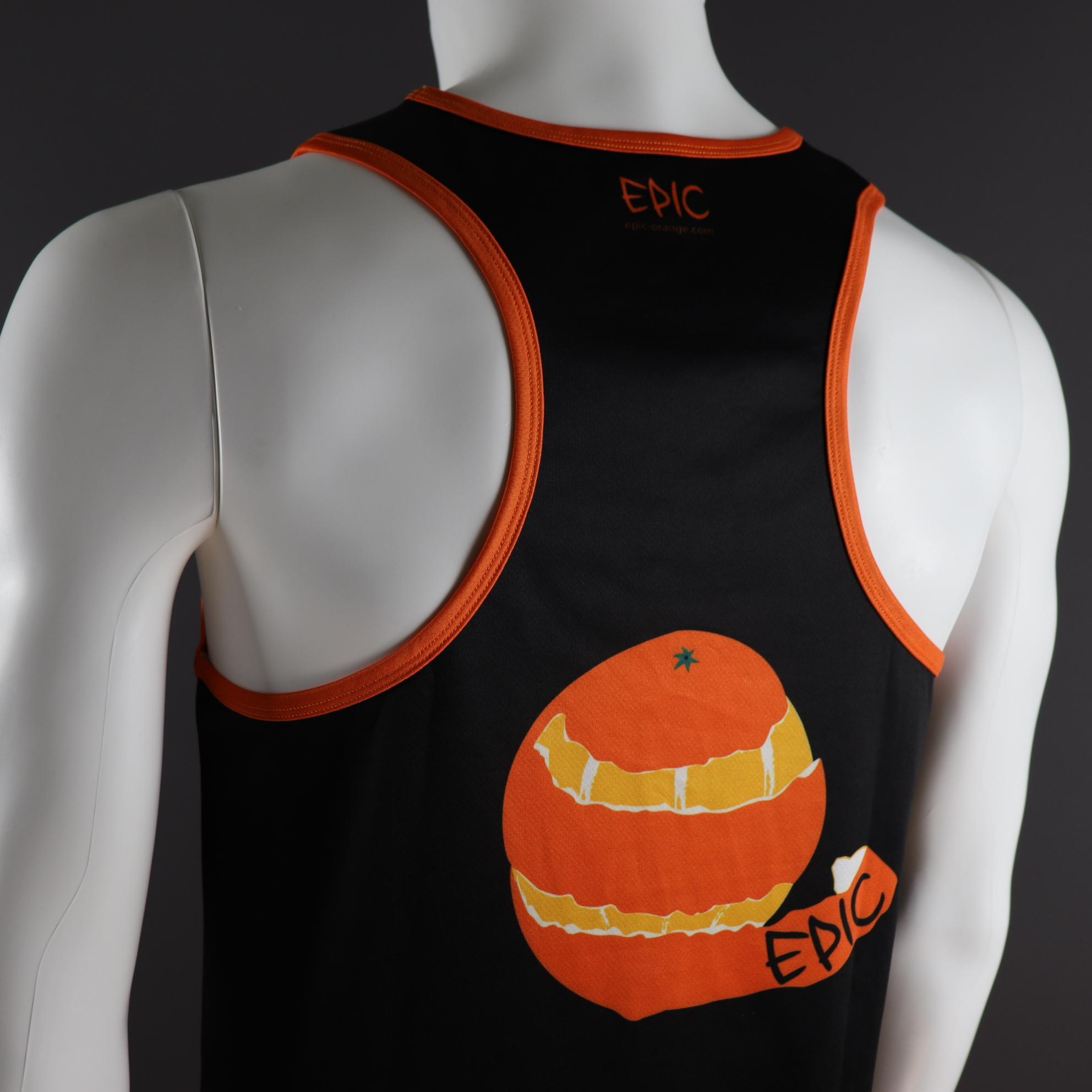 Custom Printed Racer Back Run Vests