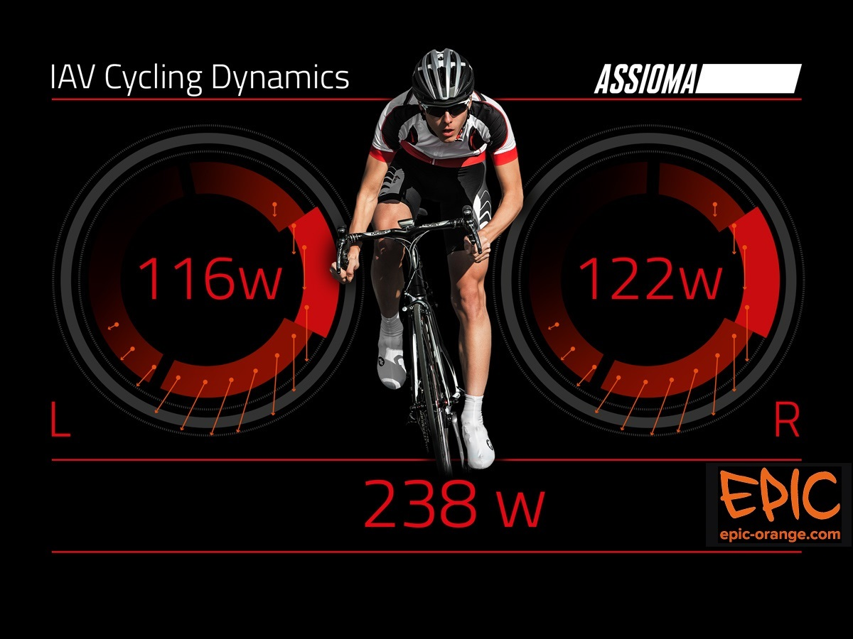 Assioma Power Meter Pedals with IAV update