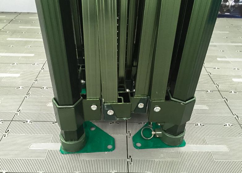 Epic 50 Gazebo Frame Anodised Green