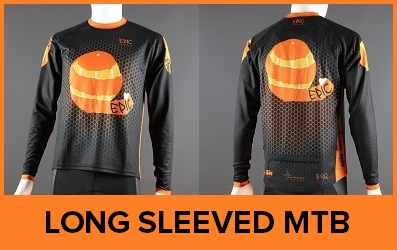 Custom Printed Long Sleeved MTB Jerseys