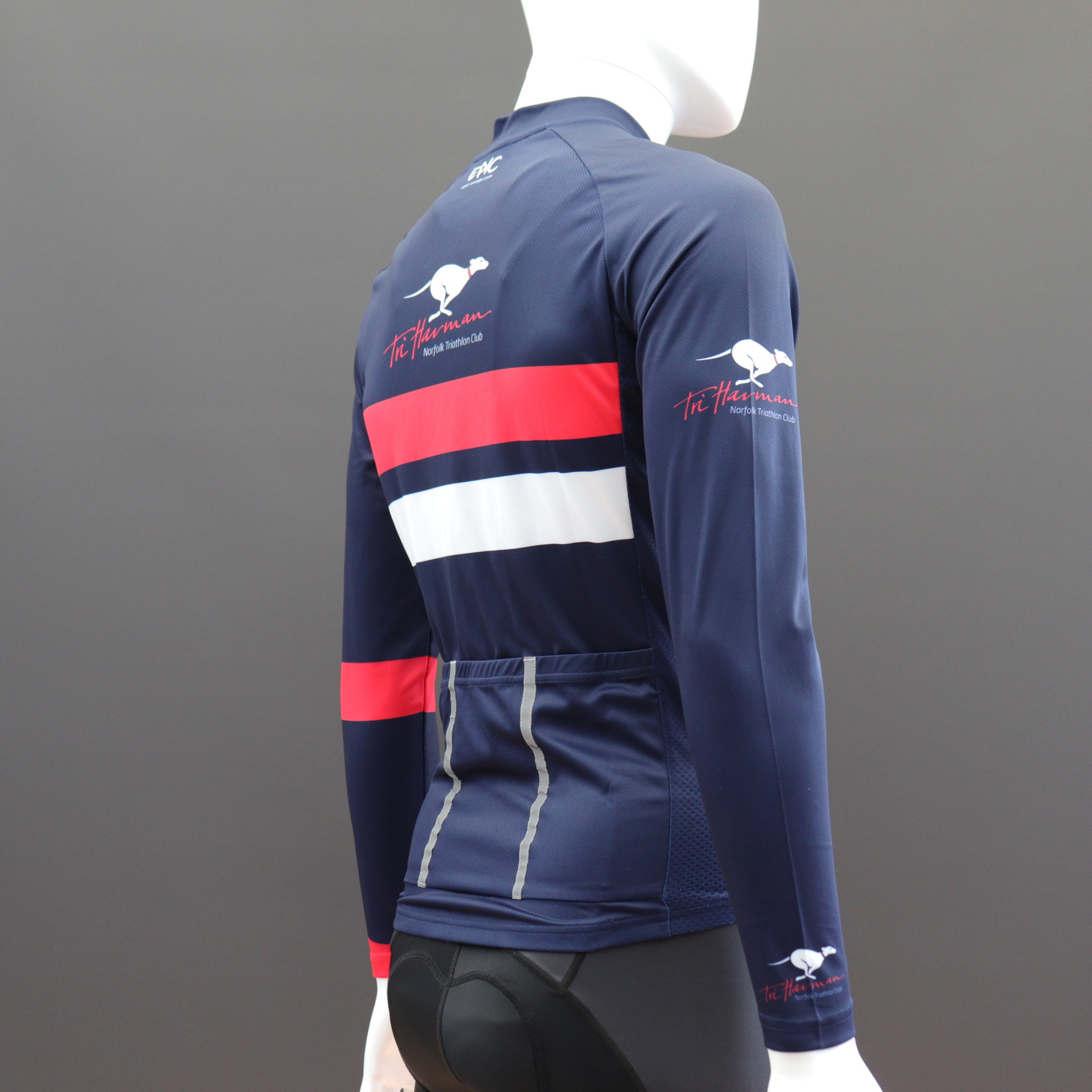 Long Sleeve Classic Cycle Jerseys