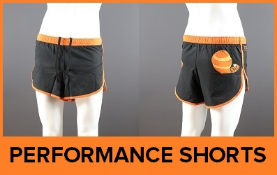 Custom Printed Performance Running Shorts
