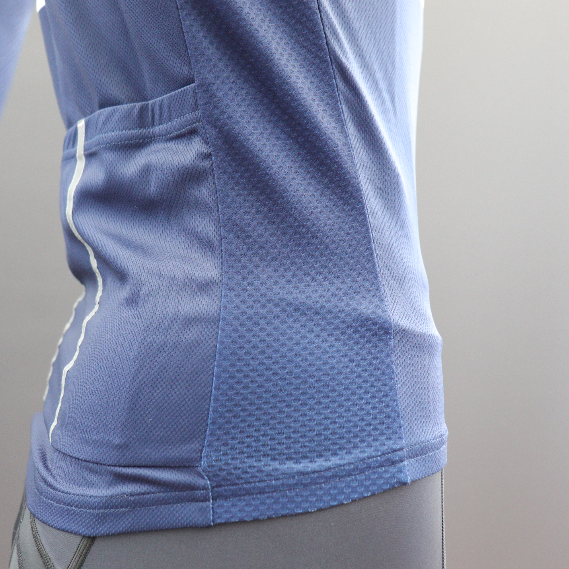Long Sleeve Classic Cycle Jerseys - Vented Side Panels
