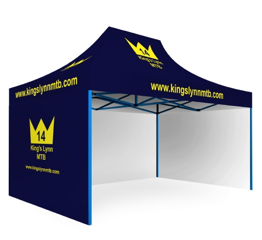 Custom Printed Gazebo Complete Package - KLMTB