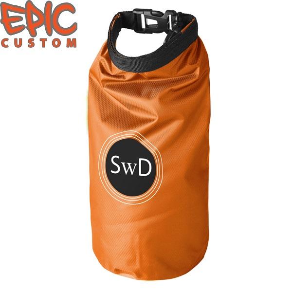 Custom Printed Dry Bags ORANGE