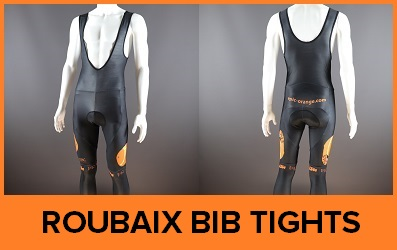Custom Printed Roubaix Cycle Bib Tights