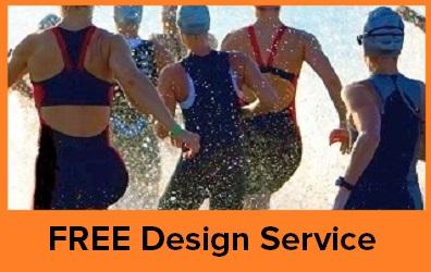 Free Triathlon Kit Design service