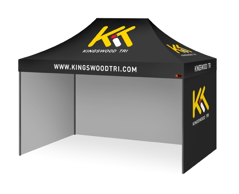 Custom Printed Gazebo Complete Package - Kingwood Tri Club