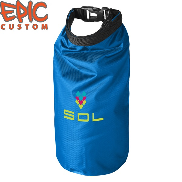 Custom Printed Dry Bags LIGHT BLUE