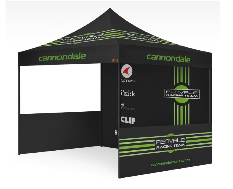 Custom Printed Gazebo Sports Package - Renvale