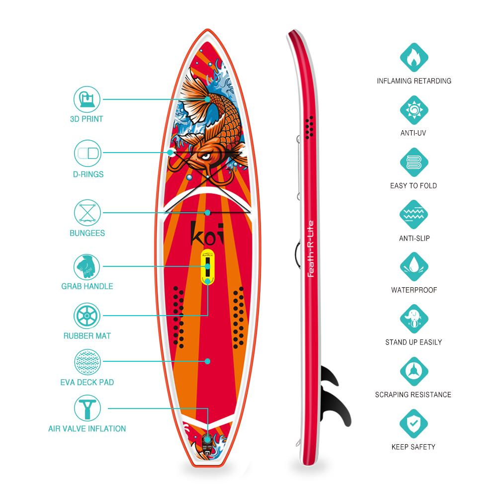 Funwater KOI Inflatable Stand up Paddle Board